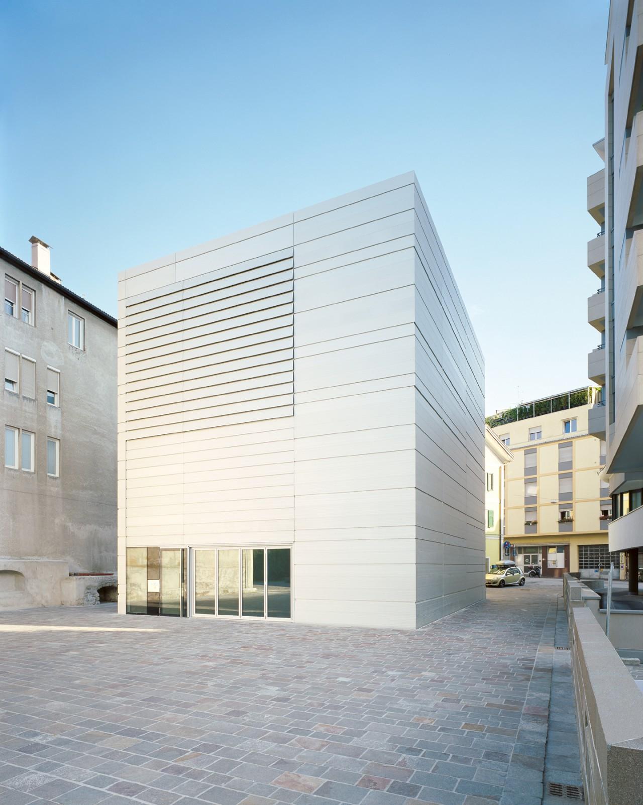 Kunsthalle Bozen Museion Atelier House